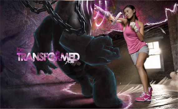 Electric Laser People In Nike Campaign Zed Equals Zee
